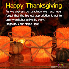 thanksgiving quotes for friends with name