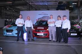 renault alliance blue renault nissan alliance plant in india produces one millionth vehicle