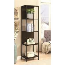 Backless Bookshelf Corner Bookcases Cymax Stores