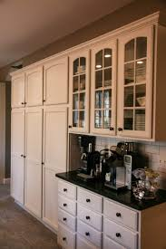 cool coffee bars cabinetry storage cabinets kitchen cabinet