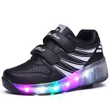ladies light up shoes amazon com uforme kids wheelies lightweight fashion sneakers led