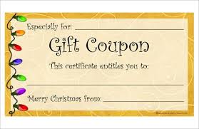 best 25 free printable gift certificates ideas on pinterest with