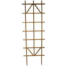 90 in redwood ladder trellis 28271 the home depot