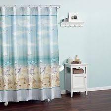 Coastal Shower Curtains Coastal Collection Shower Curtains Ebay