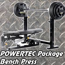 Weight Bench Package Olympic Bench Press Package Powertec