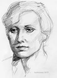 life drawing portrait young woman by tuolumney on deviantart