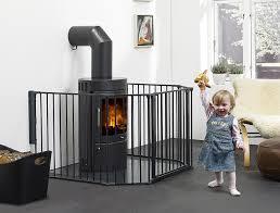babydan hearth gate room divider extra large black amazon co