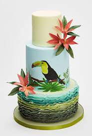 Tropical Theme Birthday Cake - 6 top party cake themes for summer sweet talk the squires
