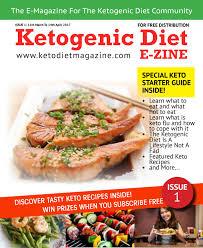 ketogenic diet e zine issue 1 by keto diet magazine ketogenic