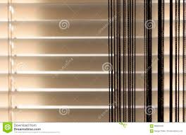 beige blinds and curtains stock photo image 68866426