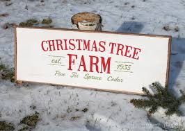 christmas farm image may contain christmas tree cozy project on