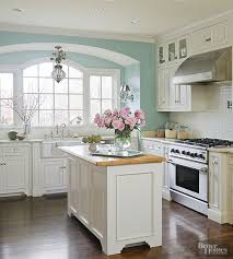 kitchen wall color with white cabinets popular kitchen paint colors better homes gardens