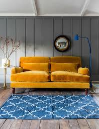 Velvet Settee Sofas Sofa Faux Leather Sleeper Sofa Blue Velvet Sectional Couch