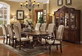 Formal Dining Room Sets Cherry Mahogany Traditional Dining - Formal dining room