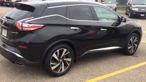 nissan murano interior 2017 black 2015 nissan murano platinum preview youtube