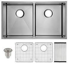 Undermount Stainless Steel Kitchen Sink by Frigidaire Undermount Stainless Steel Kitchen Sink 10mm Radius