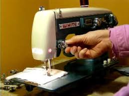 white super deluxe model min nice sewing machine youtube