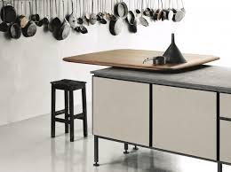 table cuisine pivotante inspirations 5 cuisines avec table intégrée joli place