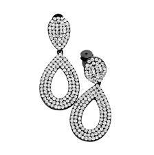 clip on earrings australia clear black teardrop clip earrings clip on earrings