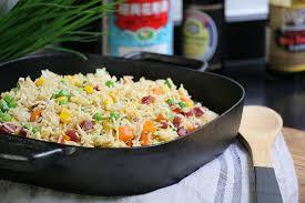 hervé cuisine chinois la recette authentique du riz cantonais cuisine chinoise facile