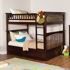 Childrens Storage Furniture by Atlantic Furniture Columbia Full Over Full Bunk Bed Hayneedle