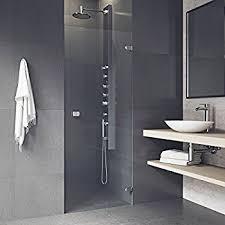 28 Shower Door Vigo Soho 28 To 28 5 In Adjustable Frameless Shower Door With