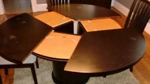 dining room tables expandable expandable round dining room table duluthhomeloan