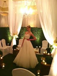 wedding backdrop vancouver emerald green wedding decor greenscape design decor