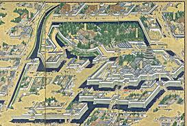 Japanese Castle Floor Plan Edo Castle Wikipedia