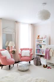 Pink And White Curtains For Nursery Pink Nursery Ideas Transitional Nursery
