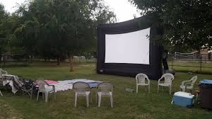 inflatable home theater system outdoor cinema services u0026 inflatable screen rentals desert air