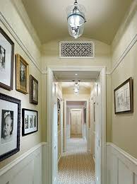 Walls And Ceiling Same Color Having The Same Color On Walls And Ceiling Gives This Hallway In A