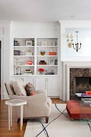 open shelving a popular built in furniture solution