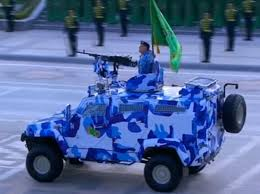 armored vehicles turkmenistan has ordered to turkey local made armored vehicles