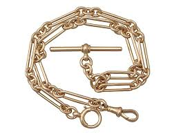 vintage watch chain necklace images Albert necklace in yellow gold antique watch chains for sale jpg