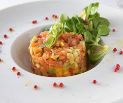 tartare cuisine easy recipe smoked salmon tartare with mango