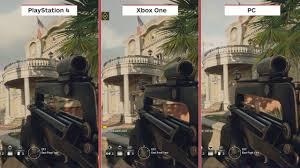siege de comparação de graficos de rainbow six siege ps4 vs xbox one vs pc