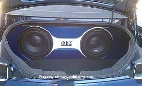 camaro speaker box 2010 2011 camaro trunk subwoofer enclosure by subthump