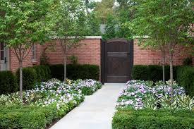 Gates And Fencing Pictures Gallery Landscaping Network - Brick wall fence designs