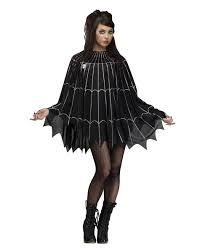 temporarily enable the spirit of halloween spiderweb poncho womens costume u2013 spirit halloween 19 99