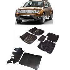 renault duster black buy car 3d mat black color for renault duster with dicky