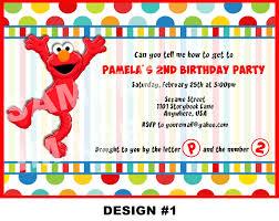 birthday invites 10 best design elmo birthday invitations elmo