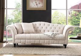 canap beige tissu canape chesterfield sofa 2 personnes en beige canape
