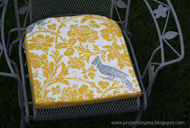 Patio Chair Seat Pads Running With Scissors Tutorial Outdoor Patio Seat Cushions