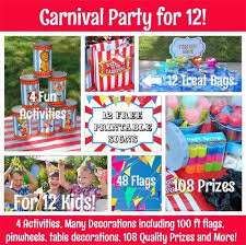 carnival birthday party carnival birthday party carnival party supplies prizes