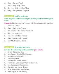 good grammar 3rd grade grammar past simple regular verbs