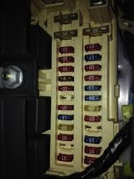 jeep cherokee electrical 1997 2001 xj fuse u0026 relay