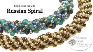 youtube bead bracelet images Make a russian spiral bracelet or necklace jpg