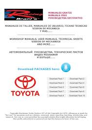 1997 toyota tacoma repair manual toyota