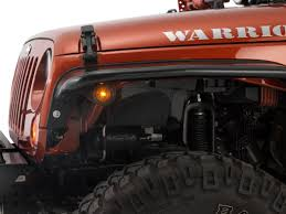 jeep lights on top tube flares warrior products